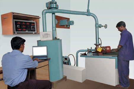 Computerized Testing of Pump